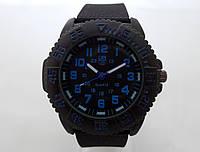 Мужские часы LUMINOX, синяя индикация, фото 1