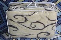 Полуторное одеяло из овечьей шерсти ARDA вензеля