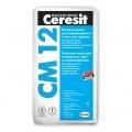 CERESIT CM-12 PRO Эластичная клеящая смесь для плитки  и керамогранита, 27 кг.