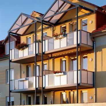 Балконные крыши Schüco