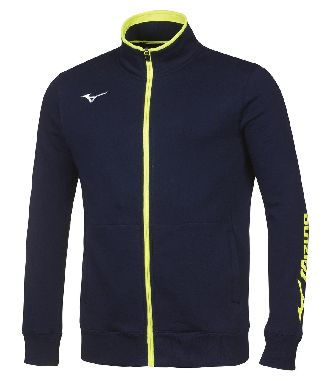 Толстовка Mizuno Sweat Fz Jacket 32EC7009-14