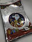Новогодняя подарочная фольгированная упаковка 25*40 Дед Мороз, 100 шт, фото 2