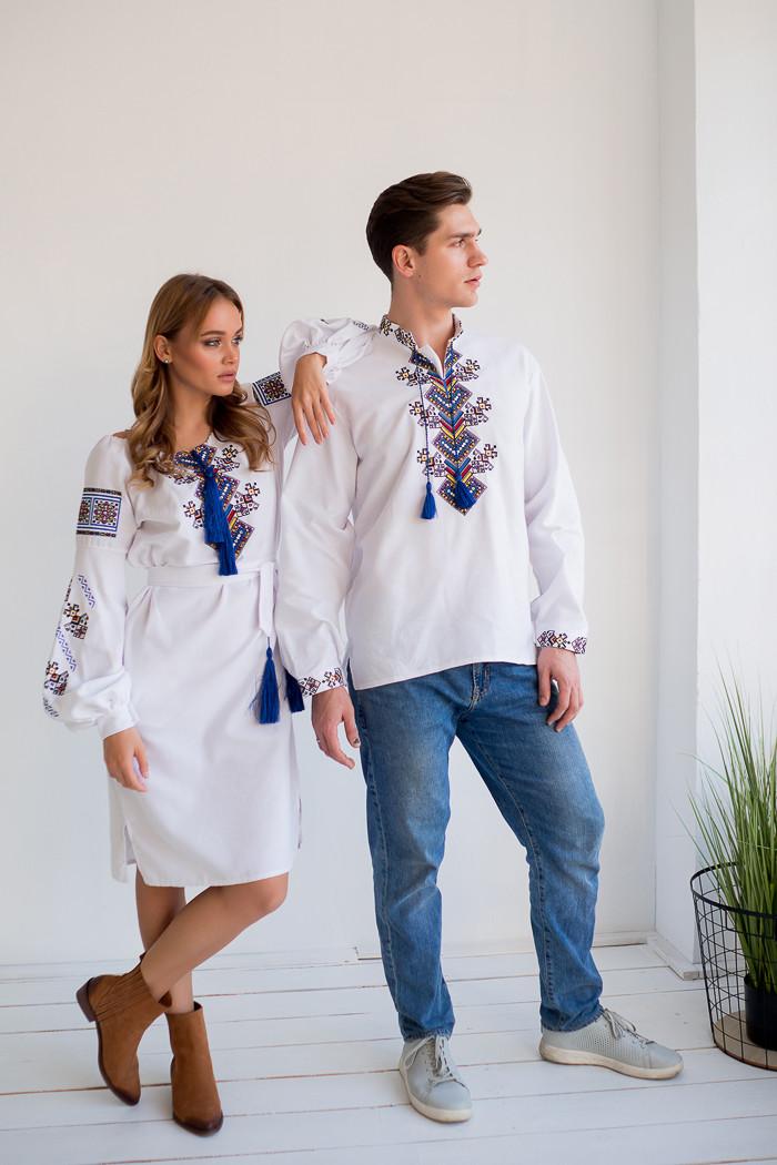Вишиванки для пари сукня і сорочка Доля