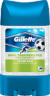 "Гелевый дезодорант-антиперспирант Gillette ""Power Rush"" (70мл.)"