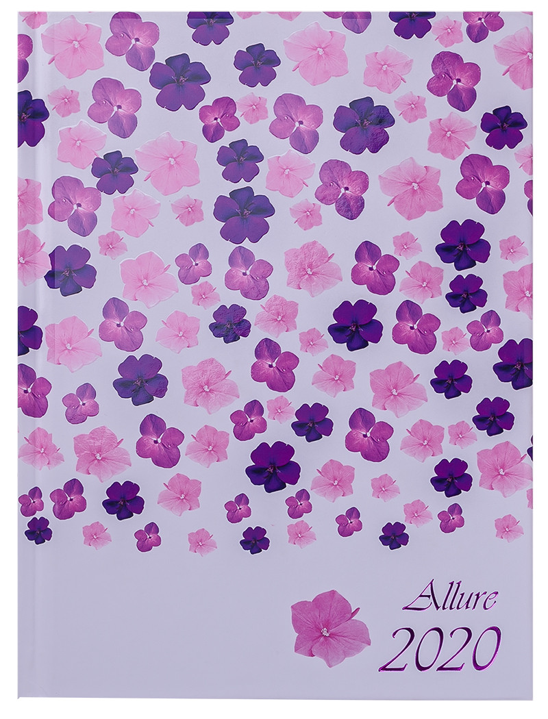 Ежедневник датированный 2020 Buromax Allure A5,фиолетовый 336 стр. BM.2178-07