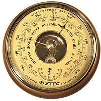 """Барометр Анероїд Настінний """"Скеля/Крэт"""" БТК-СН-8Т з Термометром (Великий)"""