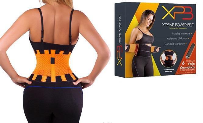 Пояс для похудения Xtreme Power Belt, пояс для коррекции фигуры, талии Экстрим Пауэр Белт