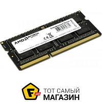 Память AMD SODIMM DDR3 4GB, 1600MHz, PC3-12800 (R534G1601S1S-U)