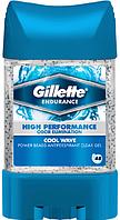"Гелевый дезодорант-антиперспирант Gillette Power Beads ""Cool Wave"" с гранулами (75мл.)"