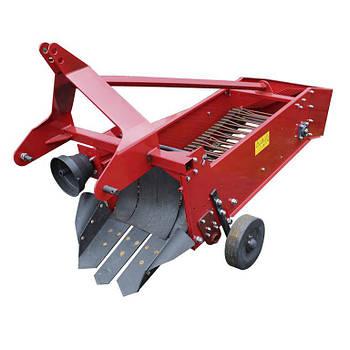 Картоплекопалка Wirax (Віракс) до міні трактора  транспортерна однорядна