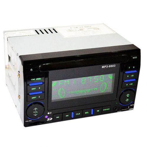 Автомобильная магнитола ISO Pioneer MP3-9903 2DIN 500Wx4 автомагнитола MP3 USB AUX FM с евро разъемом