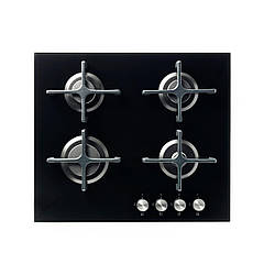 IKEA LIVSGNISTA Газовая варочная панель, стеклянная черная  (602.780.66)