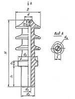 Изоляторы проходные для съемных трансформаторных вводов ИПТ-20-1000 А 01, Изолятор ИПТ-20/1000 А 01