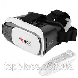 Очки виртуальной реальности VR BOX 2.0 с геймпадом (G101001209)
