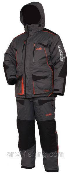 Зимний костюм мембранный Norfin Discovery Gray -35°C