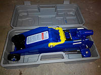 Домкрат ПОДКАТНОЙ  2т Vitol с предохранителем в пласт. (ДП-20009КШ 8,5 кг)