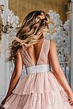 Ошатне плаття з пишною спідницею, фото 3