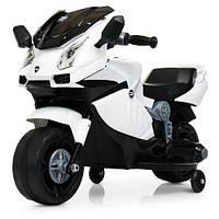Детский мотоцикл M 4082-1, белый