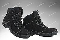 Тактические Ботинки Демисезонные Стимул Омега Черные, фото 1