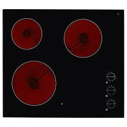 IKEA LAGANHGC3K Стеклокерамическая варочная панель, черная  (501.823.52)