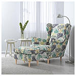 IKEA STRANDMON Кресло, Гиллхов многоцветный  (403.598.55), фото 2