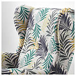 IKEA STRANDMON Кресло, Гиллхов многоцветный  (403.598.55), фото 3