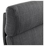 IKEA POANG Кресло, черно-коричневый, Hillared антрацит  (191.977.80), фото 3