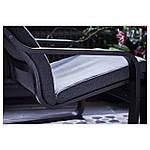 IKEA POANG Кресло, черно-коричневый, Hillared антрацит  (191.977.80), фото 6