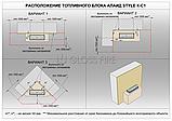 Топливный блок в корпусе Gloss Fire Алаид  Style 400-К-С1, фото 10
