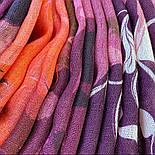 10796-3, павлопосадский шарф-палантин вовняної (розріджена шерсть) з осыпкой, фото 7