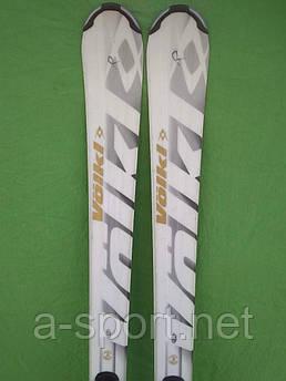 Гірські лижі бу Volkl Sensor 168 см для карвінгу