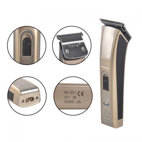 Беспроводная машинка для стрижки волос Kemei KM-5017