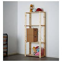 IKEA HEJNE Стеллаж, натуральный  (390.314.11)