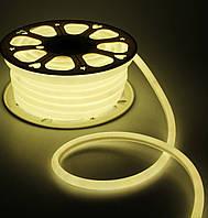 Теплый Светодиодный Гибкий Неон LED FLEX 220V 360° ip68 круглый