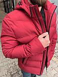 😜 Куртка - Мужскаяя теплая зимняя куртка красная, фото 4
