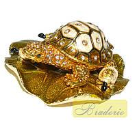 Шкатулка ювелирная Черепаха QF3486
