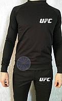 Теплый мужской спортивный костюм (флис) UFC