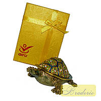 Шкатулка ювелирная Черепаха QF4270