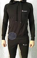 Теплый мужской спортивный костюм с капюшоном (флис) Champion