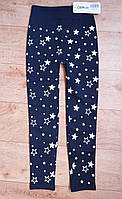 Лосины бесшовные Ойман под джинс  для девочки на меху  8-10 р., фото 1
