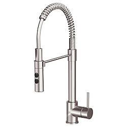 IKEA VIMMERN Смеситель для кухни с душем, сталь  (903.052.90)
