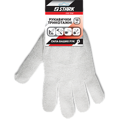Перчатки Stark White 3 нити (10 пар)