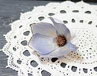 Цветок магнолии голубая с блестками, фото 1