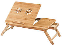 Подставка для ноутбука из бамбука