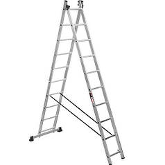 Лестница 2-х секционная Stark SVHR2x10