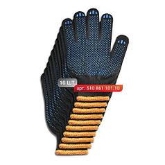 Набор перчаток Stark Black 6 нитей 10 шт.