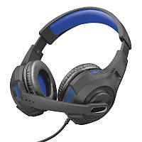 Наушники Trust GXT 307B Ravu Gaming Headset for PS4 3.5mm BLUE