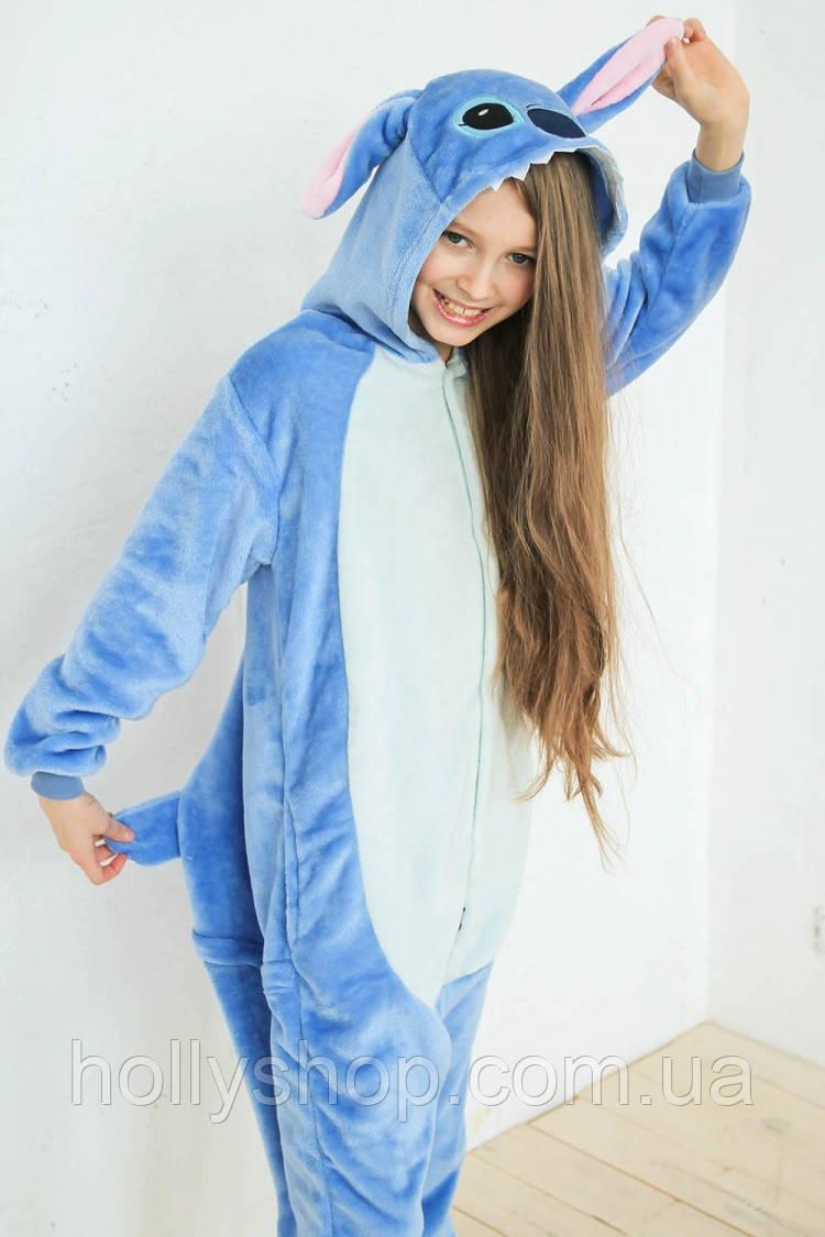 Детская Пижама кигуруми Футужама Стич
