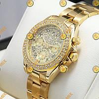 Часы Rolex Daytona Women Crystal Gold