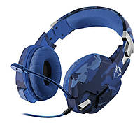 Наушники Trust GXT 322B Carus Gaming Headset for PS4 3.5mm BLUE